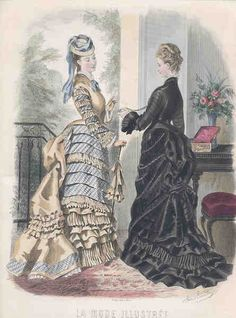 June 1875 La Mode Illustree