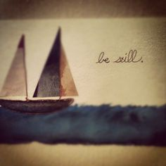 lionheartpress:  Be still. (Taken with Instagram)