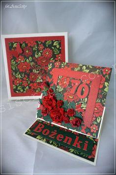 70 na czerwono - Papierowe wariacje Asiola