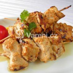 Krůtí špízy Cauliflower, Food And Drink, Treats, Chicken, Vegetables, Sweet Like Candy, Goodies, Cauliflowers, Vegetable Recipes