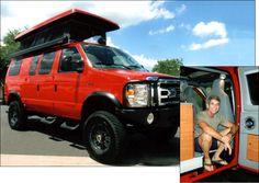Sportsmobile Custom Camper Vans - Sportsmobile Owner Designs Examples