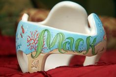 Ocean Cranial Band DOC Band  https://www.facebook.com/pages/Cranial-BandsMurals-by-Leigh-Gibson/153150921414230