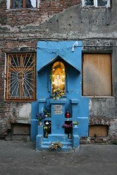 Blue Maria @Ząbkowska St Poland Germany, Warsaw Poland, Krakow, Homeland, Mary, Europe, Polish, Architecture, Blue