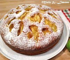 torta morbida e fichi freschi