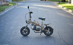Build A Go Kart, Vintage Moped, Custom Moped, Cool Bikes, Motorbikes, Motorcycle, Day, Mopeds, Scooters
