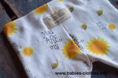 Organic Baby Clothes, Organic Baby Leggings, Eco Friendly, sunshine leggings, leggings, baby legware, Designed by MilliLee - http://www.babies-clothes.info/organic-baby-clothes-organic-baby-leggings-eco-friendly-sunshine-leggings-leggings-baby-legware-designed-by-millilee.html