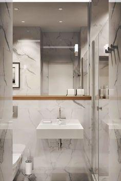 36 suprising small bathroom design ideas for apartment decorating 3 Small Bathroom Inspiration, Bathroom Design Small, Bathroom Interior Design, Bathroom Ideas, Bath Ideas, Bathroom Toilets, Mirror Bathroom, Vintage Bathrooms, Bathroom Styling