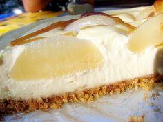 cheese cake poire caramel