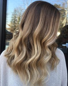 50 Ideas for Light Brown Hair with Highlights and Lowlights - Milky Blonde Balayage Hair - Bronde Hair, Brown Hair Balayage, Brown Ombre Hair, Brown Blonde Hair, Ombre Hair Color, Hair Color Balayage, Cool Hair Color, Brown Hair Colors, Dark Blonde Balayage