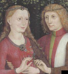 Brautpaar, Hausbuchmeister (Bridal Couple)