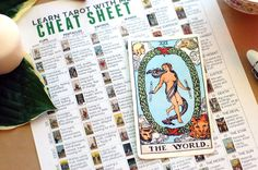Bookmark this page as a reference for all of the Tarot Card Meanings, then get the free tarot cheat sheet to learn & remember the meanings of the cards.