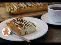 Пирог «Ленивый эклер». Очень вкусно, а готовить просто!