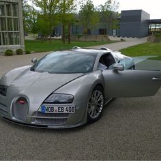 Grey Bugatti Vitesse via @N.hein check out @daily.essentials |#Dutchbugs