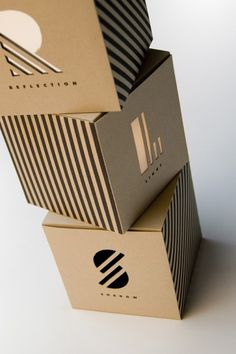 die cut packaging-chris-ferrante. Cutting the card board to create texture, could be used as display as well as packaging