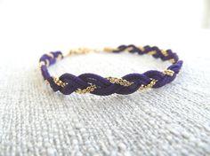 Neon braided bracelets  by Handemadeit, $12.90