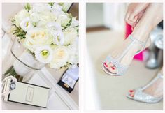 Sparkling silver wedding shoes - Appleberry Press, Stationery worth the paper it's printed on