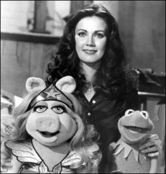 Linda Carter and the Muppets:  Two very important parts of my childhood