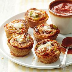 Savory Stromboli Cups From Better Homes and Gardens, ideas and improvement projects for your home and garden plus recipes and entertaining ideas.