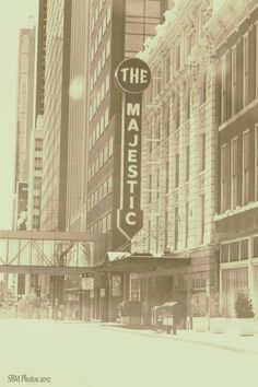 Majestic Theater Downtown Dallas Texas