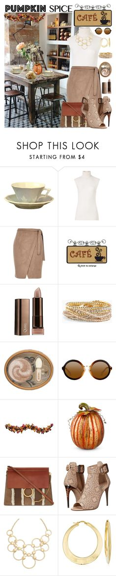 """Coffee date in a little cafe ♡"" by hubunch ❤ liked on Polyvore featuring NYMPHENBURG, Diane Von Furstenberg, River Island, Torrid, Paul & Joe, Improvements, Chloé, Burberry, Vera Bradley and Ross-Simons"