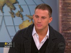 Channing Tatum promoting The Vow!