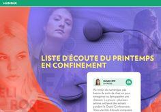 Liste d'écoute du printemps enconfinement - La Presse+