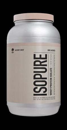 Pure naked protein. Isopure Unflavored WPI powder contains 26 grams per serving of unadulterated 100% Whey Protein Isolate, stripped of fat, carbs, fillers, sugars and lactose. Easy to add to any food and beverage and so pure you won't even taste it.