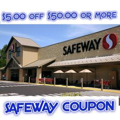 Safeway $5 off $50 Digital Store Coupon Info and more - http://couponsdowork.com/safeway-weekly-ad/safeway-5-off-50-dealio/