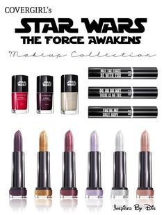 Star Wars Makeup Collection for The Force Awakens.