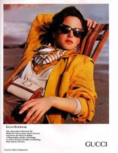1990 ad for #Vintage #Gucci #Eyewear