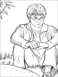 Harry Potter Outs Coloring Pages - Harry Potter Coloring Pages : KidsDrawing – Free Coloring Pages Online
