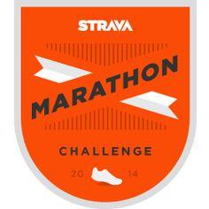 Strava Marathon Challenge (October, 2014)