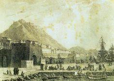 Alicante antiguo. España. Murallas. Hoy inexistentes