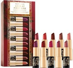 Bare Minerals Love At First Kiss Marvelous Moxie Lipstick Set Perfect for Holiday Lips!