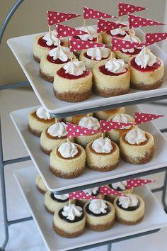 mini cheesecakes tutorial & recipe!