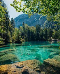 Blausee, Switzerland - Alberto Moya