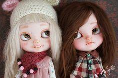 Custom Blythe doll with Teeth. By Cyrielle. So cute!