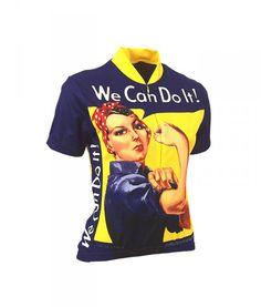 Buy Rosie The Rivet - Womens Retro Cycling Jersey 598cc04dd