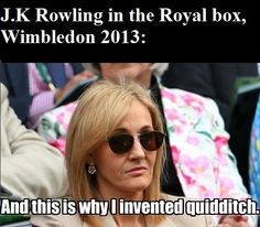Meanwhile in the royal box..