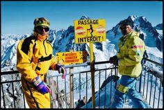 The North Face & OG Extreme Skier Scot Schmidt
