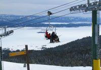 Tamarack Resort in Idaho - love the southern exposure ski slopes! http://www.familyskitrips.com/rockies/idaho/tamarack_ski_resort.htm