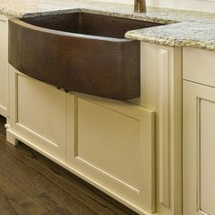 Hammered Copper Farm Sink Ideas, Pictures, Remodel and Decor