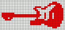 Friendship bracelet patterns page Learn how to make friendship bracelets of threads or yarn, and start tying today! Cross Stitch Music, Cross Stitch Needles, Cute Cross Stitch, Cross Stitch Cards, Cross Stitch Designs, Cross Stitching, Cross Stitch Patterns, Guitar Patterns, Loom Patterns