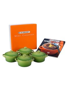 Cocottes with Mini-Cocotte Cookbook Set (9 PC)