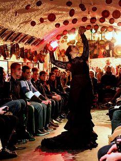 Flamenco en las huevas de el Albayzin