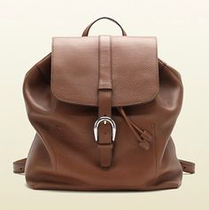 #GUCCI • backpack with flap closure