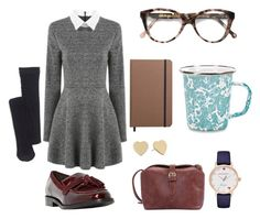 """""""Workday Outfit #2"""" by leahlouise17 on Polyvore featuring Madewell, Dune, Kate Spade, Shinola, Thos. Baker and Cutler and Gross"""