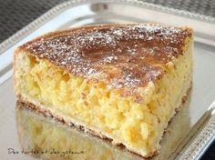 """Sa réputation n'est plus à faire, en Belgique, elle est connue depuis des décennies cette fameuse tarte au riz de Vervier. J'y ai ajouté un """" petit plus """" en la parfumant avec du zeste d'orange ... Délicieux. RECETTE pour un cercle de 220/40 mm PATE 300..."""