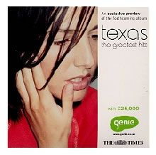 "For Sale - Texas The Greatest Hits UK Promo  CD single (CD5 / 5"") - See this and 250,000 other rare & vintage vinyl records, singles, LPs & CDs at http://991.com"