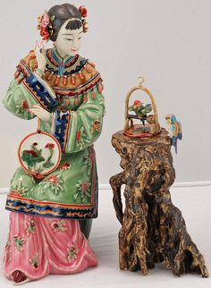 -chinese-porcelain-figurine-lady by Silk Road Collection, via Flickr